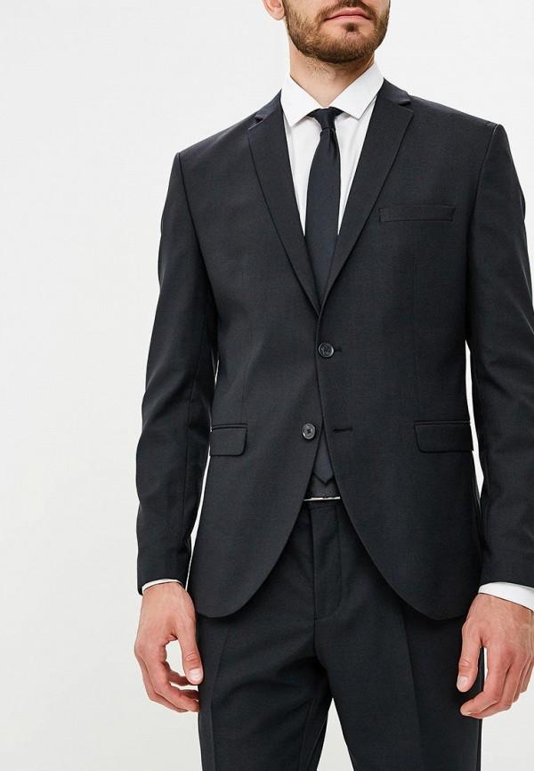 мужской пиджак jack & jones, черный