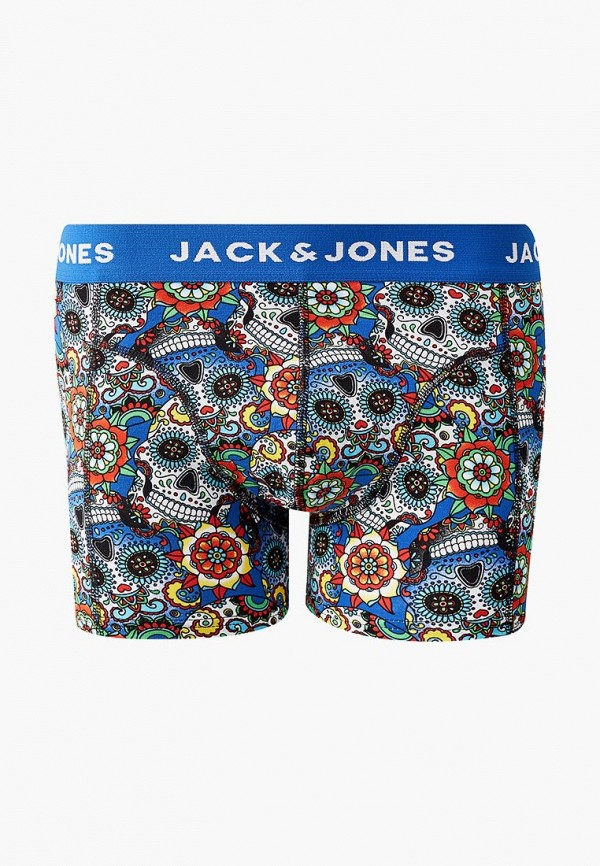 Трусы Jack & Jones, ja391emdkeb6, синий, Весна-лето 2019  - купить со скидкой