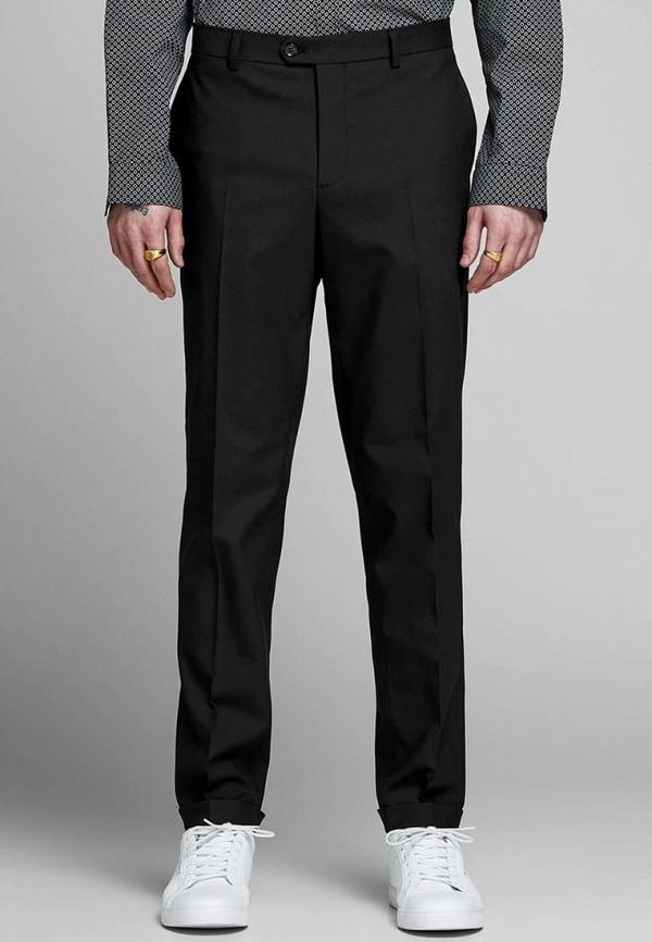 мужские классические брюки jack & jones, черные