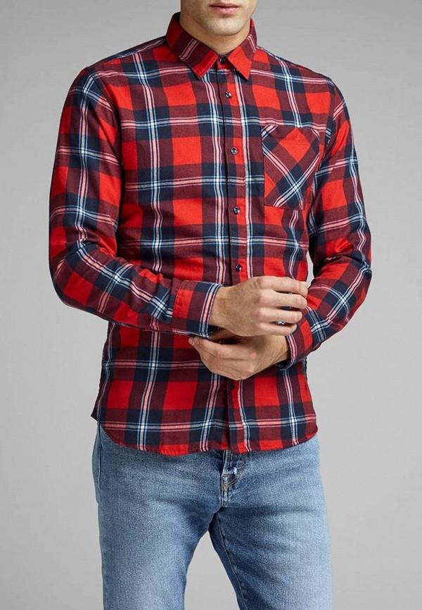 Купить Рубашка Jack & Jones, ja391emdkeo1, красный, Весна-лето 2019