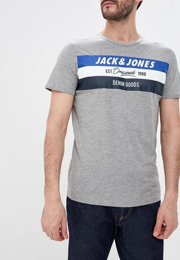 Футболка Jack & Jones Jack & Jones JA391EMDNOO0 кардиган jack