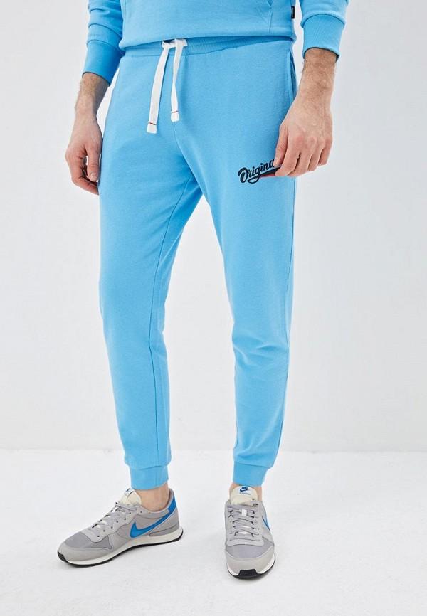 мужские спортивные брюки jack & jones, голубые