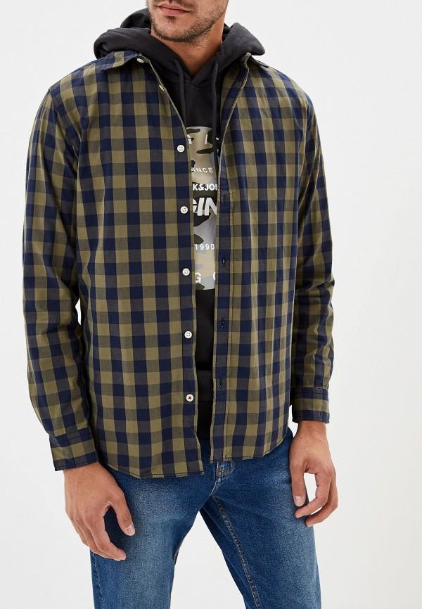 Фото - Рубашку Jack & Jones цвета хаки