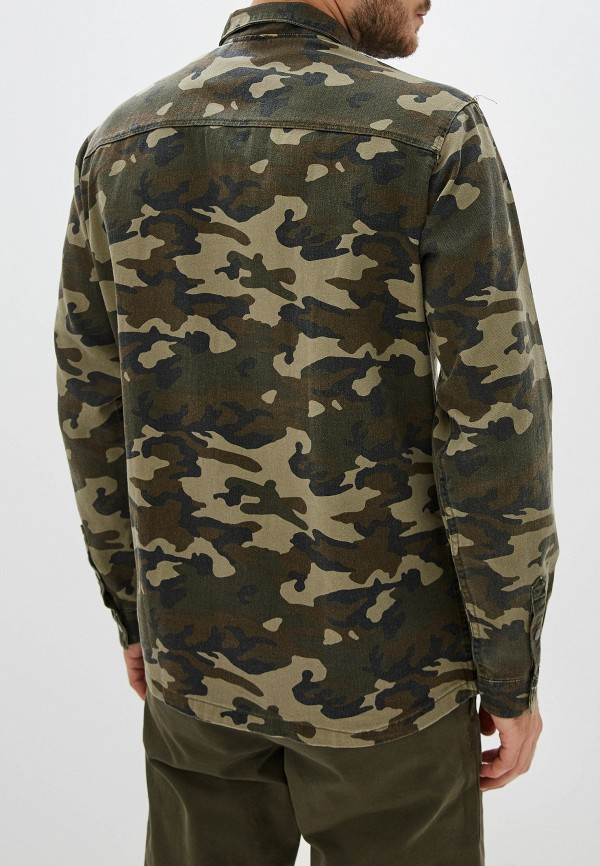 Фото 3 - Рубашку Jack & Jones цвета хаки