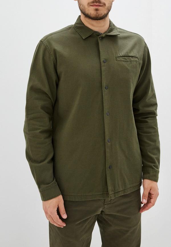 Фото 2 - Рубашку Jack & Jones цвета хаки