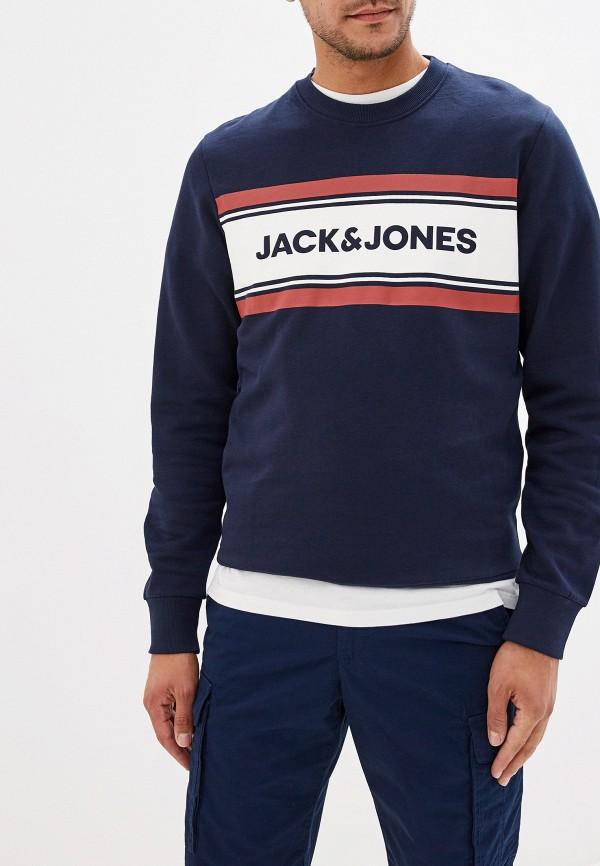 мужской свитшот jack & jones, синий