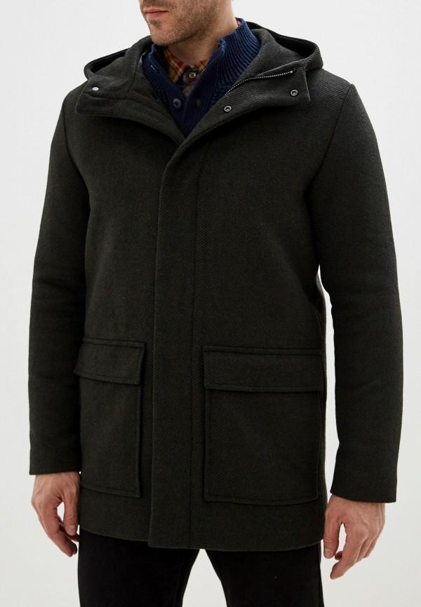 мужское пальто jack & jones, серое