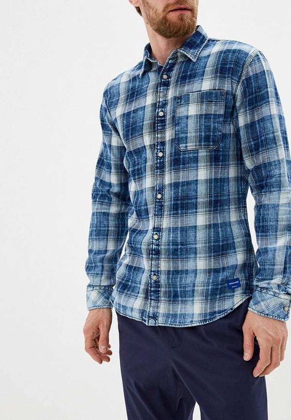 Купить Рубашку Jack & Jones синего цвета