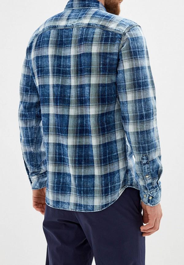 Фото 3 - Рубашку Jack & Jones синего цвета