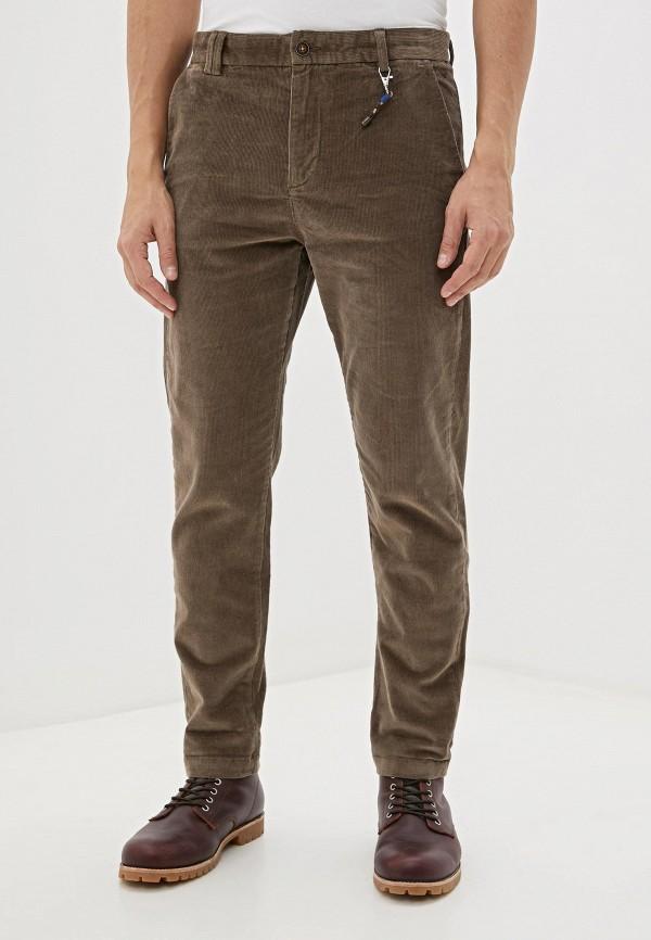мужские повседневные брюки jack & jones, коричневые