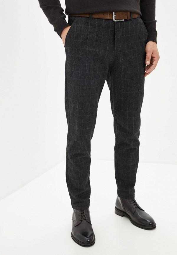 мужские повседневные брюки jack & jones, черные