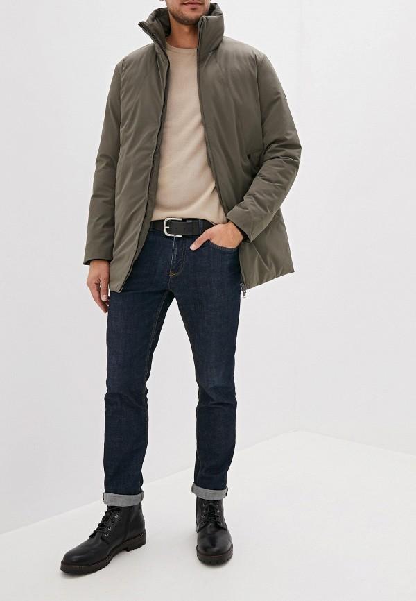 Фото 2 - Куртку утепленная Jack & Jones цвета хаки