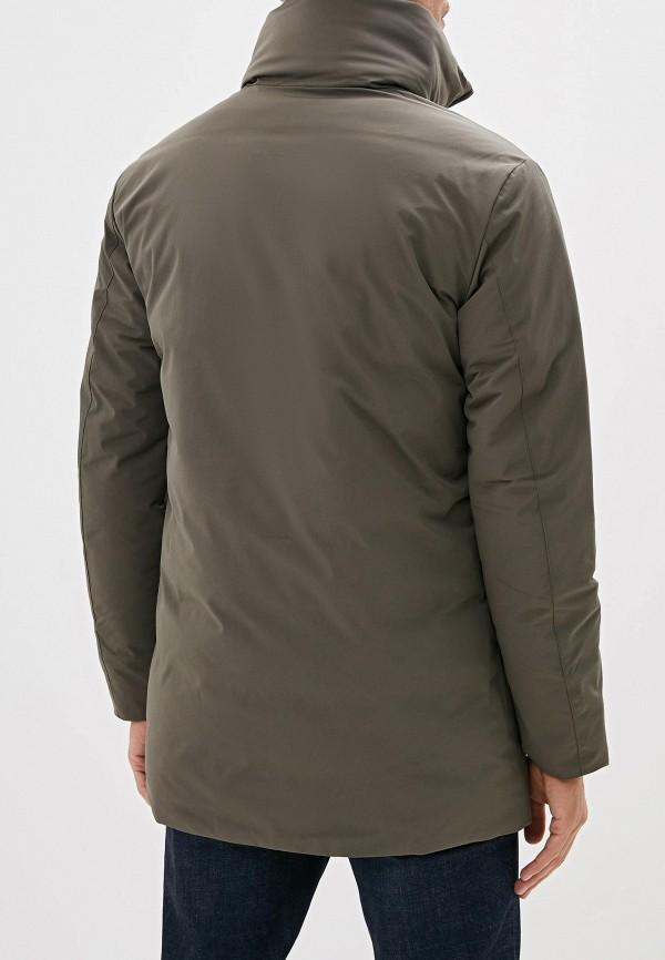 Фото 3 - Куртку утепленная Jack & Jones цвета хаки
