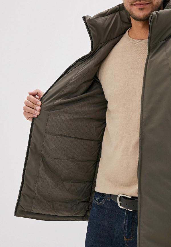 Фото 4 - Куртку утепленная Jack & Jones цвета хаки