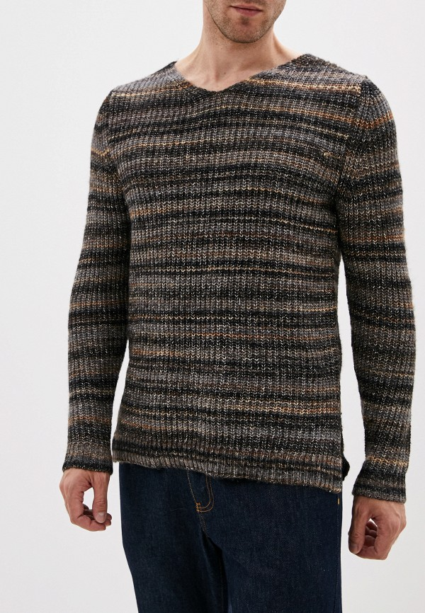 мужской пуловер jack & jones, разноцветный