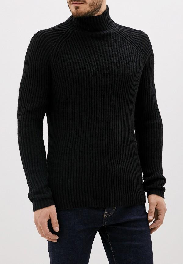 мужской свитер jack & jones, черный