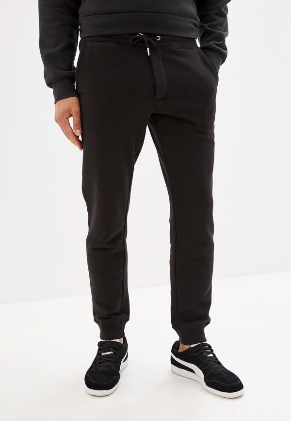 мужские спортивные спортивные брюки jack & jones, черные