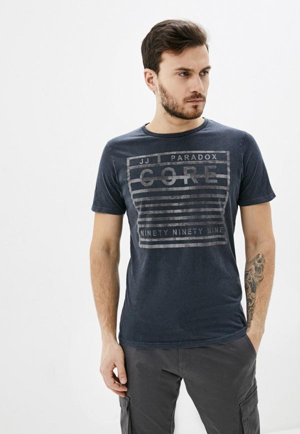 мужская футболка jack & jones, серая