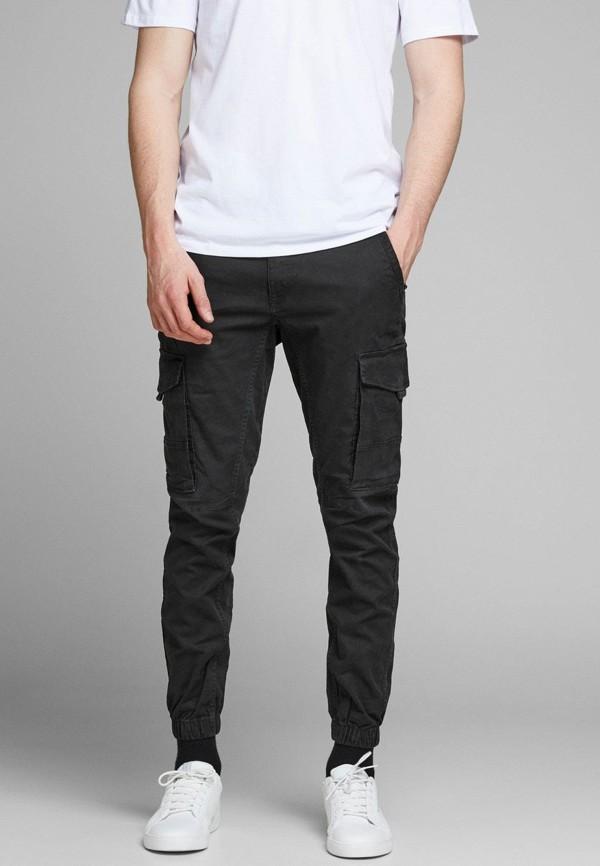 мужские брюки jack & jones, черные