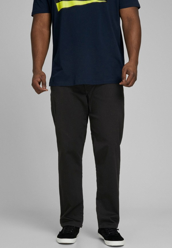 мужские прямые джинсы jack & jones, серые