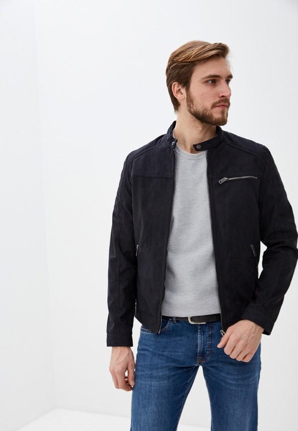 мужская куртка jack & jones, черная