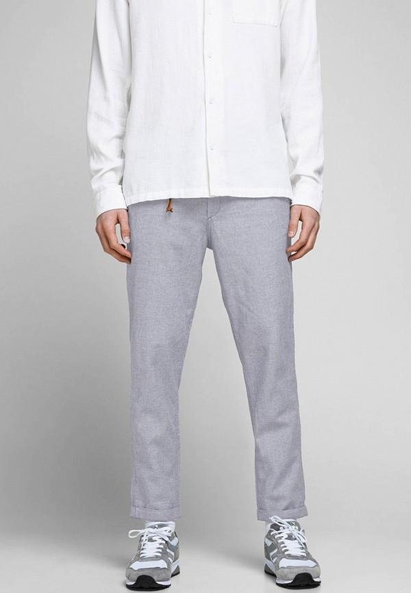 мужские повседневные брюки jack & jones, серые