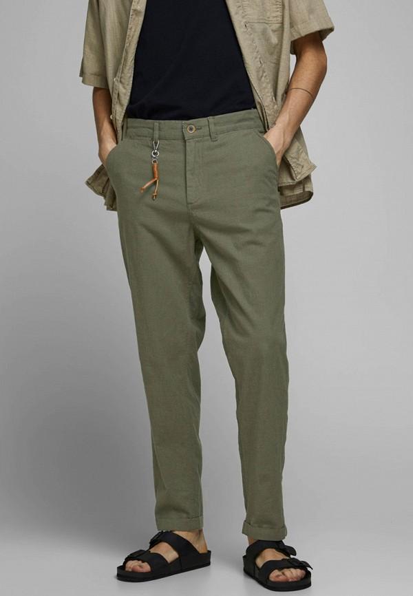 мужские повседневные брюки jack & jones, хаки