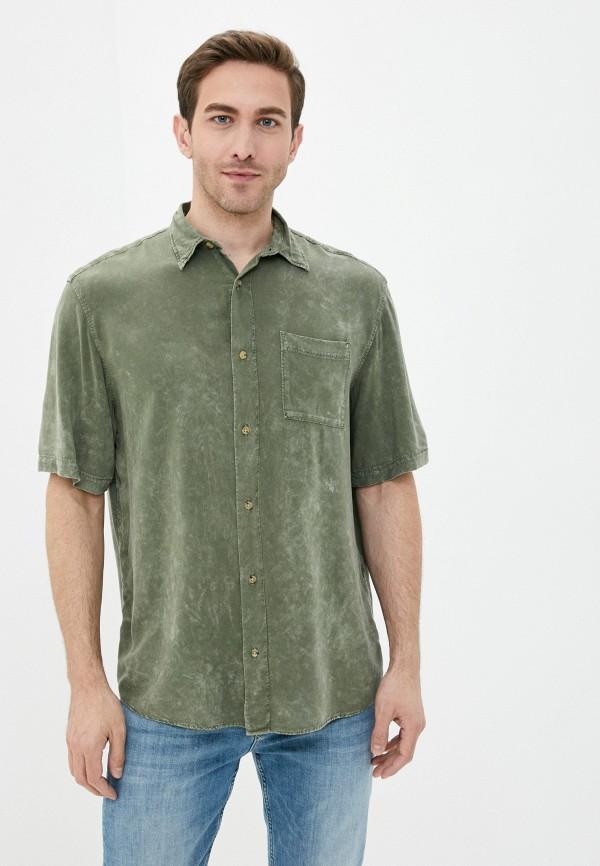 мужская рубашка с длинным рукавом jack & jones, бирюзовая
