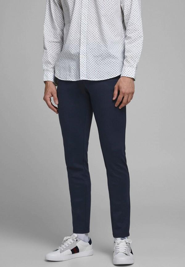 мужские повседневные брюки jack & jones, синие