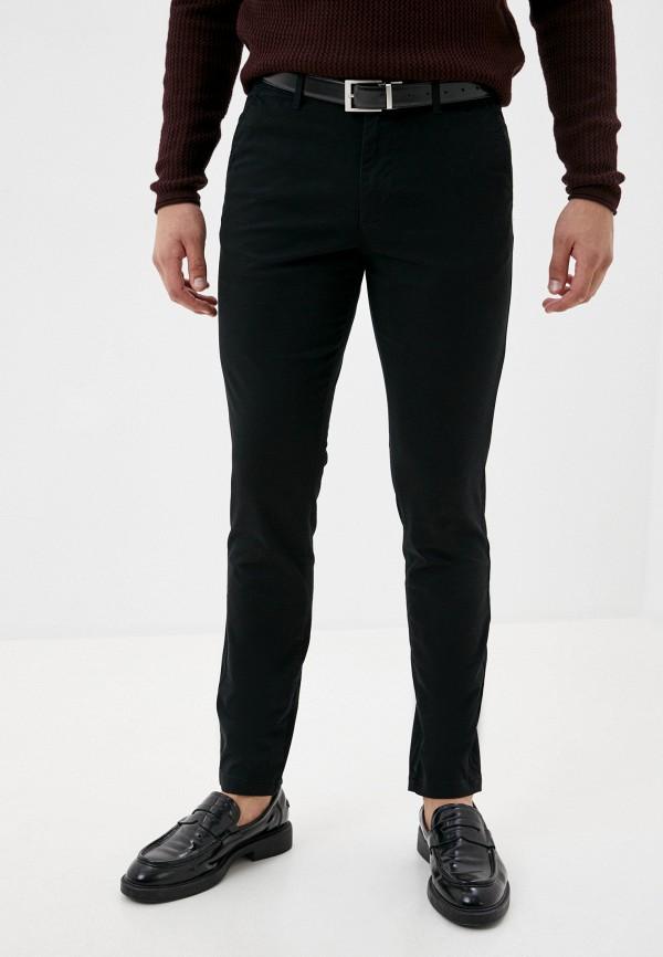 мужские брюки чинос jack & jones, черные
