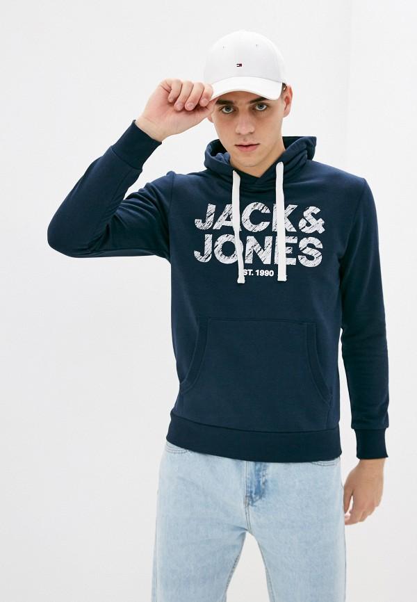 мужские худи jack & jones, синие