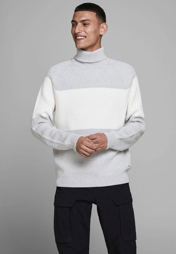 мужской свитер jack & jones, серый