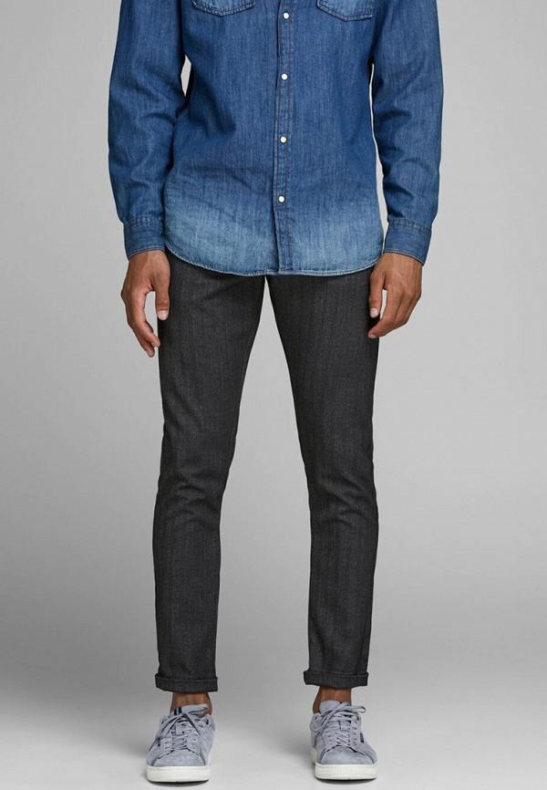 мужские брюки чинос jack & jones, серые