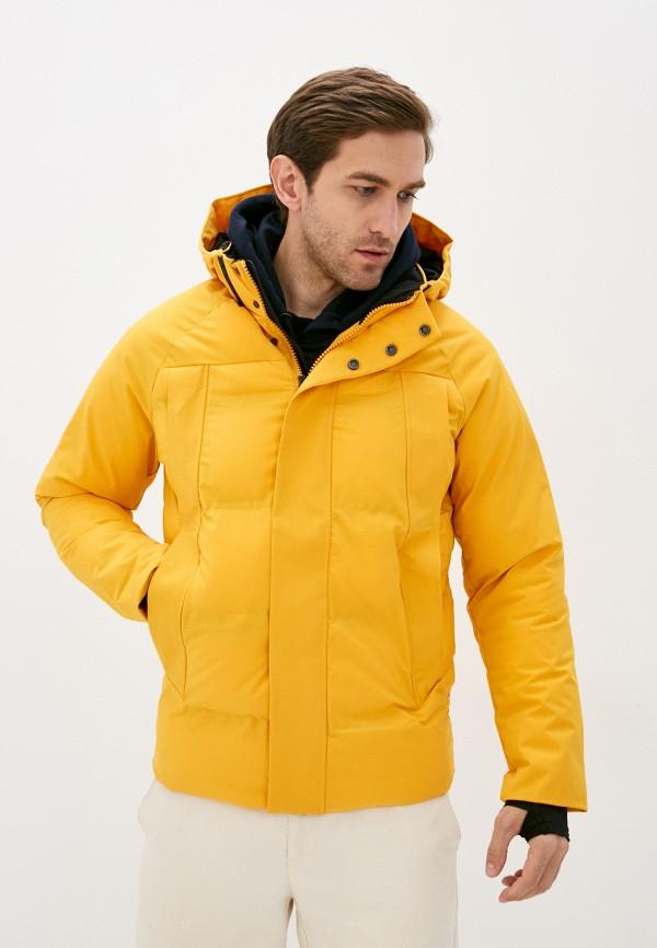 мужская куртка jack & jones, желтая