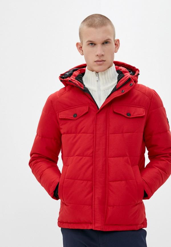 мужская куртка jack & jones, красная