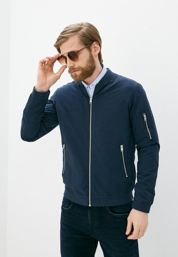 мужская куртка jack & jones, синяя