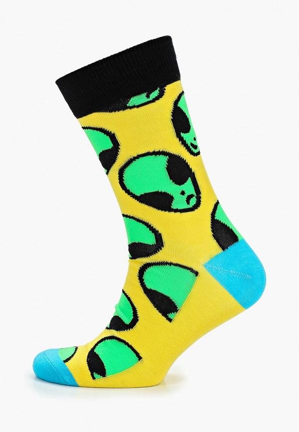 Купить Носки Jack & Jones, ja391fmdkdy5, желтый, Весна-лето 2019