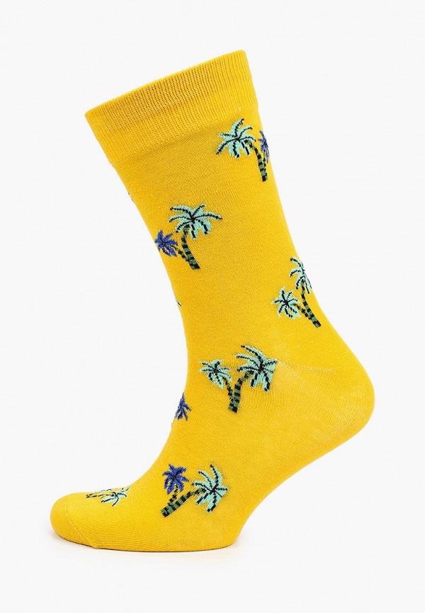 мужские носки jack & jones, желтые