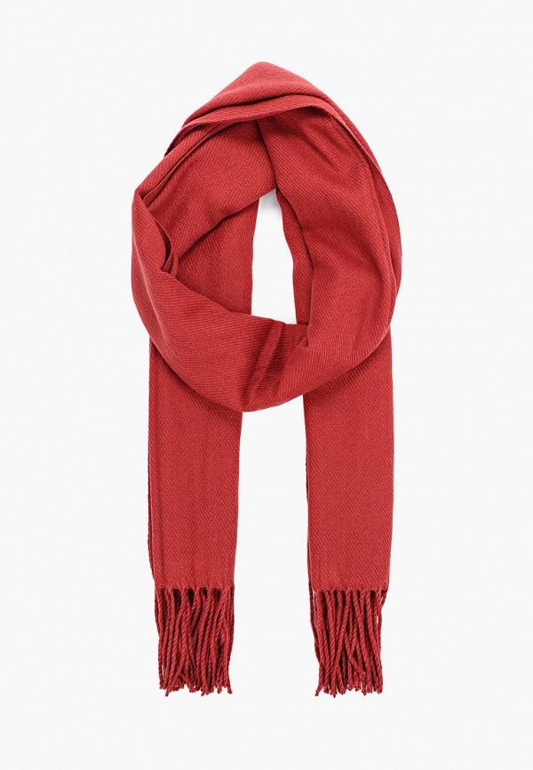 мужской шарф jack & jones, красный