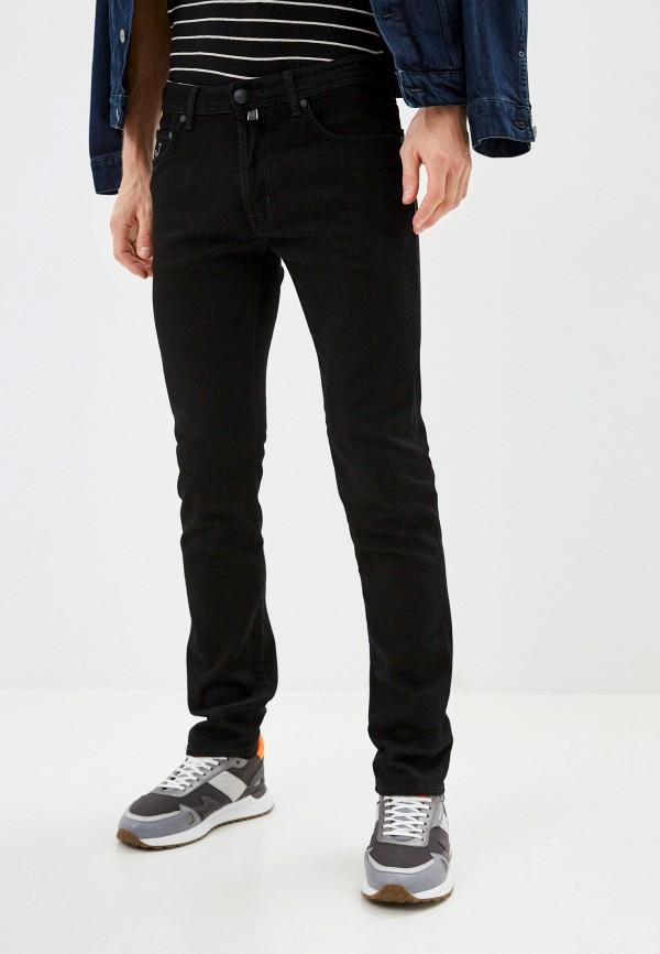 мужские прямые джинсы jacob cohen, черные