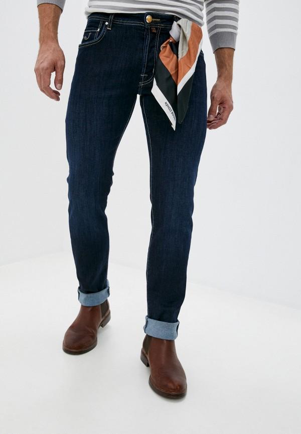 мужские прямые джинсы jacob cohen, синие