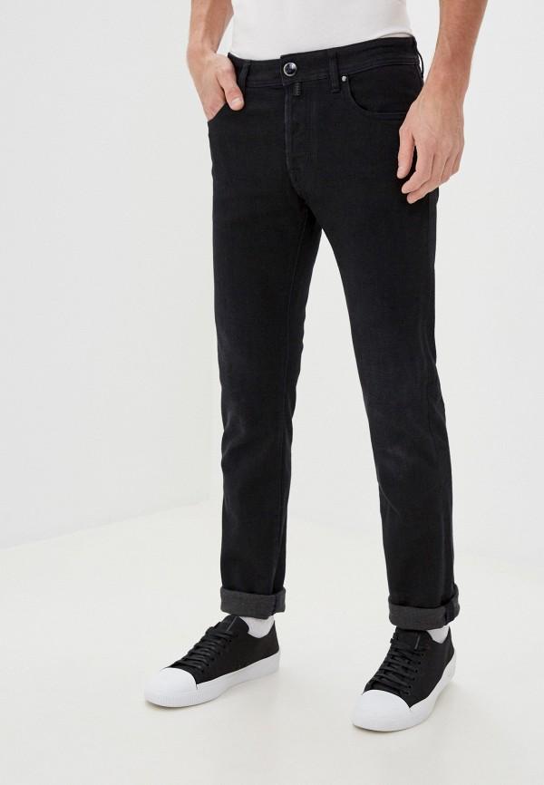 мужские зауженные джинсы jacob cohen, черные