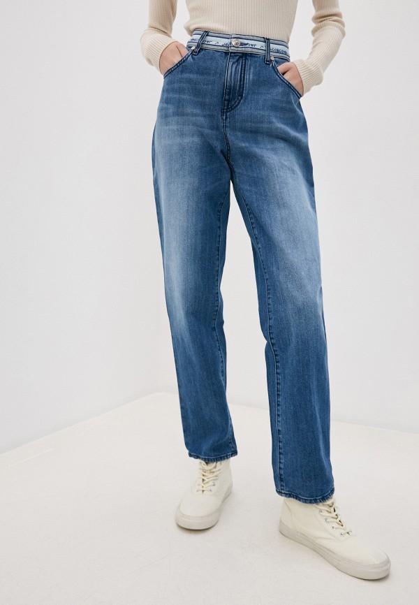 женские прямые джинсы jacob cohen, голубые