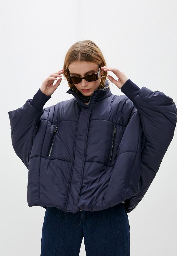 женская куртка jacob cohen, синяя
