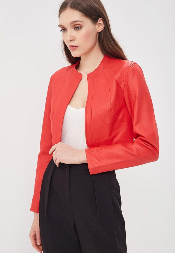 Куртка кожаная Jacqueline de Yong Jacqueline de Yong JA908EWAPIK9