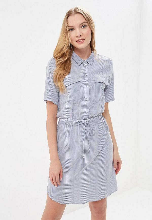 Купить Платье Jacqueline de Yong, JA908EWAPIN0, синий, Весна-лето 2018
