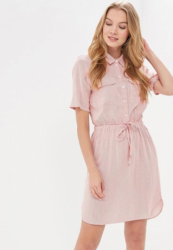 Купить Платье Jacqueline de Yong, JA908EWAPIN1, красный, Весна-лето 2018