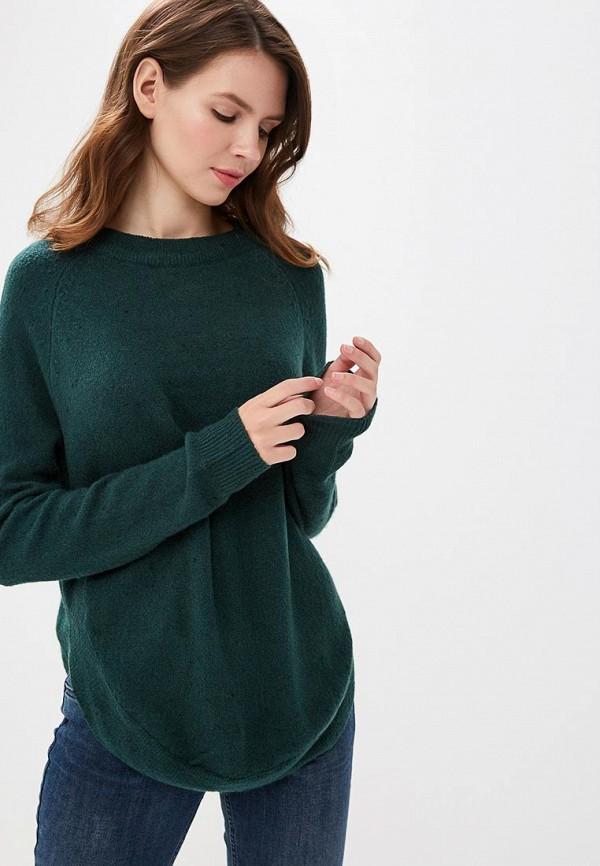женский джемпер jacqueline de yong, зеленый
