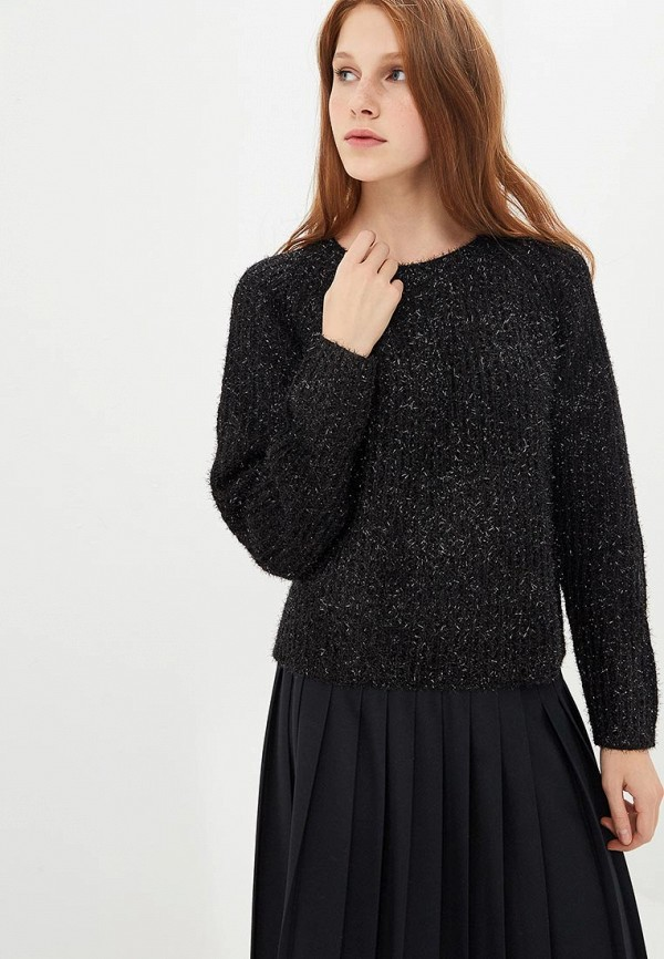 Джемпер  черный цвета