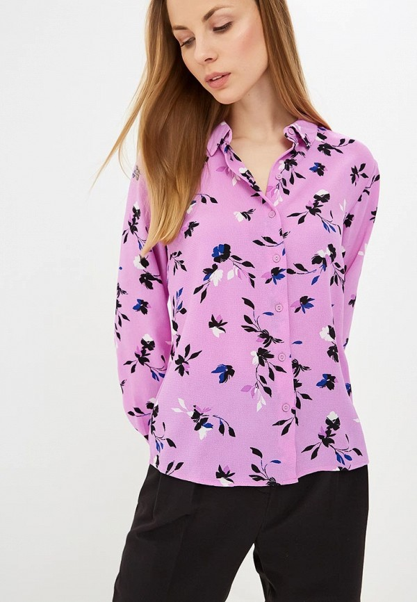 женская блузка jacqueline de yong, фиолетовая